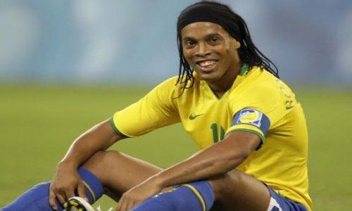 Ronaldinho alegría